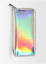 Hologram Women's Metallic Glitter - Clutch Handbag Purse Wallet
