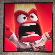 ANGER Coaster from INSIDE OUT Movie Ceramic Tile