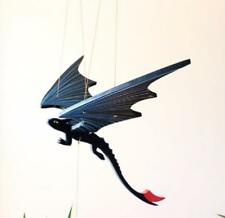 Flying Dragon Mobile Sm Black Hand Painted Colombia Fair Trade Graceful Movement