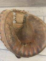 Vintage Wilson A2406 Professional Left Handed Catchers Mitt RHT
