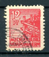 SBZ Mecklenburg-Vorpommern MiNr. 36 y f gestempelt geprüft Kramp (XXX