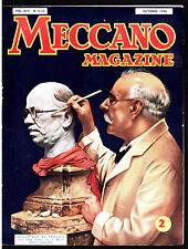 MECCANO MAGAZINE n°9-10 ¤ 10/1936 ¤ MUSEE CIRE GREVIN / BREGUET 46-T