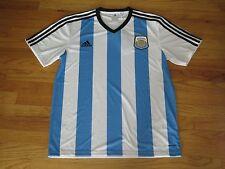 Argentina Adidas Climalite Team Soccer Replica Jersey Shirt Men's Sz: Large NWT