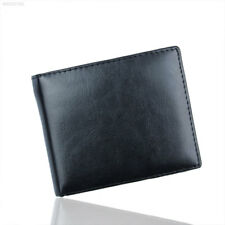 9DA0 Men PU Leather Wallet ID Credit Card Holder Purse Pockets Perfect Casual