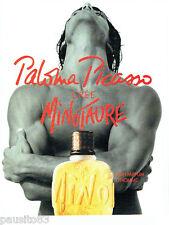 PUBLICITE ADVERTISING 1016  1994  Paloma Picasso   crée parfum Homme Minotaure *