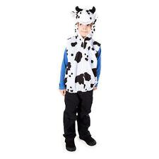 Bambini Ragazzi Ragazze Fattoria Mucca Natività Giocare Costume Animale Vestito Età 3-7