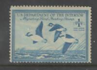 US Sc RW15 1948 Duck Stamp OG Hinged Mint