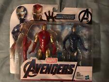 NMIP MCU VHTF! Iron Man & Rescue 2 pack Avengers 4 Endgame Wave 2 6 inch Figures