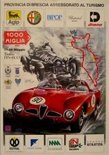 Original Mille 1000 Miglia 1990 Poster Alfa Romeo limitiert XL Racing Vintage