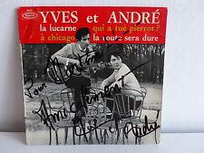 YVES ET ANDRE La lucarne 9065 Dédicacé