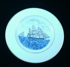 THE CLIPPER SHIP SWEEPSTAKES FIRST EDITION PLATE N CURRIER ATLAS CHINA CO NY