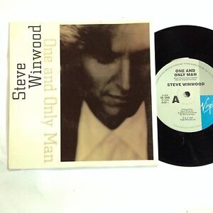 Steve Winwood One And Only Man (Spencer Davis Group)Like New 7`` Record