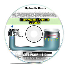 Hydraulics Journeyman Repair Technician Training Manual Course Books CD F52