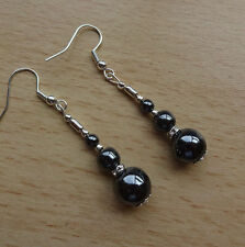 Handmade Natural Sterling Silver Fine Pearl Earrings