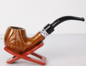Durable Harz Tobacco pipe Cigarette Smoke Tabakpfeife Filter Pipes Reusable gift