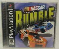 NASCAR RUMBLE Racing -  Playstation 1 2 PS1 PS2 Game Complete Tested Working