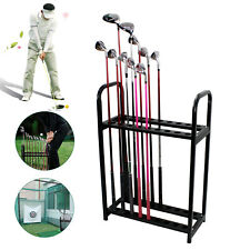 Golf Clubs Rack Organizers 18 Clubs Holder Stand Display Golf Putter Rack Usa