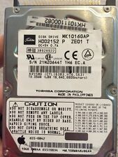 TOSHIBA MK2016GAP HDD2154 20GB 2.5in IDE Drive @J