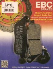 Plaquettes de frein noirs EBC pour motocyclette