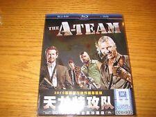 The A-Team 2-Disc Blu-ray+DVD Region A,B,C Asia Ironpak