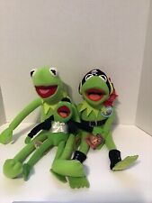 the muppets kermit the frog plush lot