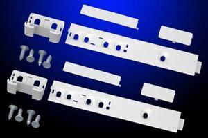 2St. Schleppscharnier Türbefestigung Gleitschiene Tür Kühlschrank AEG Elektrolux