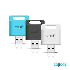 WIFI SENZA FILI SCAMBIO DATI CARD READER LETTORE SCHEDE PER MICRO SD USB wireless