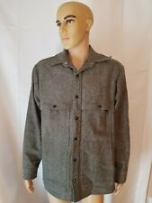 Rare C.C. Filson Co. 100% Virgin Wool Gray Jacket Coat Genuine CC Filson Garment