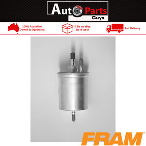 Fram Fuel Filter G10215 Same As Ryco Z738 fits Audi A4 B7, A6 C6, R8 RS4 RS6