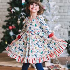 Girls Wildflowers clothing Best Day Ever Merry Merry Dress size 10 Nwt