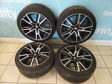 PEUGEOT RCZ R Alloy Wheel Set 5 stud 5 triple spoke design 9j x19 Inch ch5-24