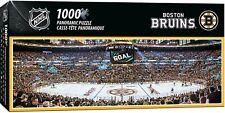 BOSTON BRUINS STADIUM PANORAMIC JIGSAW PUZZLE NHL 1000 PC HOCKEY