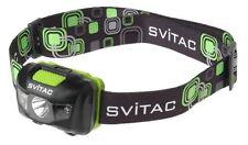 New SVITAC ST-H1 Cree XP-E Q5 + 2x Red LED 120LM Head light Flashlight ( Black )