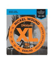 D'ADDARIO Jeu cordes électriques XL Nickel Wound Light 10-46 - ESXL110