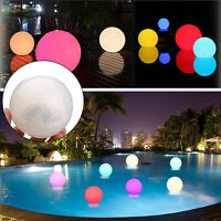 Solar Floating Underwater LED Color Changing Light Swimming Pool Outdoor    1