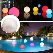 Solar Floating Underwater LED Color Changing Light Swimming Pool Outdoor Garden