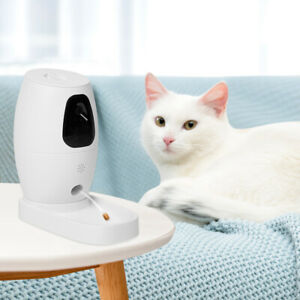 Smart Phone WIFI Pet Feeder Camera Dog Cat Automatic Food Water Dispenser Petkit