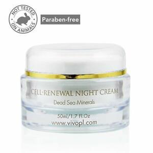 Vivo Per Lei Dead Sea Night Hydrating Cream Anti-Aging Firming Face Moisturizer