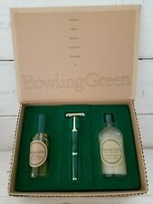 Bowling Green by Geoffrey Beene Player Gift Set Spray After shave Razor NOB