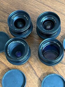 Zeiss ZE 4 Lens Kit (EF Mount) - 25mm, 35mm, 50mm, 85mm