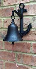 Ancoraggio in ghisa portone cancello STAFFA Bell Decorazione Giardino Casa Nuovo Regalo