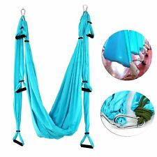 Blue Aerial Yoga Swing - Ultra Strong Antigravity Yoga Hammock/Sling/Inversion