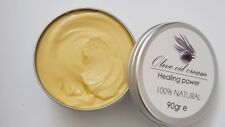 Natural Olive Oil & Beeswax Skin Cream With Lavender And Lime Extract.