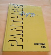 1988 SAEGERTOWN HIGH SCHOOL Yearbook - Pennsylvania - PANTHERIAN - EXCELLENT