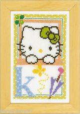 Vervaco 0149540 Alfabeto Hello Kitty - Letra K Kit contado