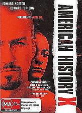 AMERICAN HISTORY X - BRAND NEW & SEALED R4 DVD (EDWARD FURLONG, EDWARD NORTON)