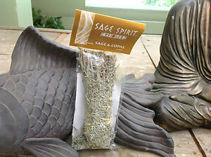 Sage & Copal Spirit Med Smudge Sticks Healing Clearing Purification Blessing