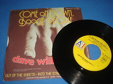 45T DAVE WILLIAMS - come on down, boogie people - AM FR 1978  black soul groove