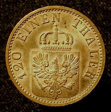 Kgr. Preußen, Wilhelm I., 3 Pfennige 1871 A