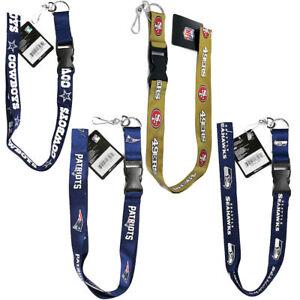 PSG lanyard keychain badge PSG NFL PICK YOUR TEAM